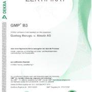 thumbnail of GMP+Zertifikat